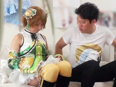 「中出しじゃんっ」関西弁のコスプレイヤーを自宅でパコった一部始終を盗撮w