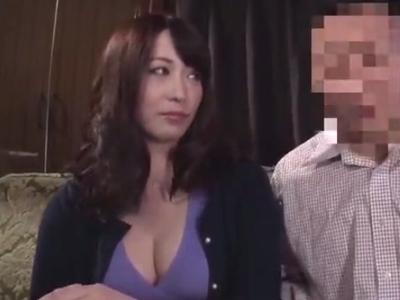 変態意識高めな巨乳痴女妻→ガチ調教SEX開始でドM性癖開花