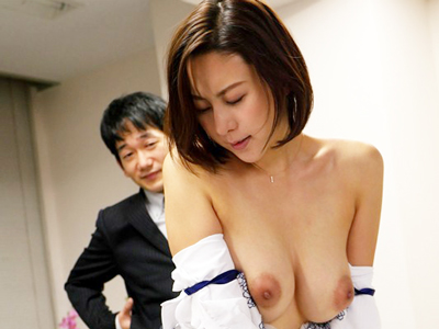 「ちょ‥何してんの!」ダメ社員の汚いチンポに犯される美人上司・松下紗栄子