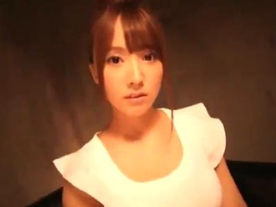 「らめぇ!イっちゃうよぉ!」元48アイドルの巨乳美少女が男優チンポに喘ぎまくりw