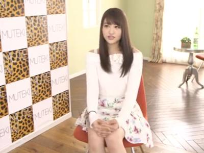 関西弁の美少女がAVデビュー!カメラの存在を忘れガチイキw