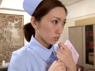 「ぁぁッ…だめっ」院長に脅され犯される美人看護師w