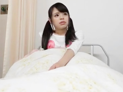 入院中の美少女が隠れてコッソリ性交している一部始終を盗撮w
