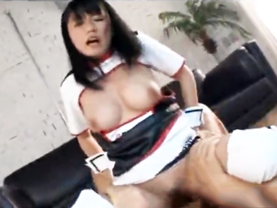 むっちり巨乳美少女、坂井里美とコスプレパコでザーメン顔射