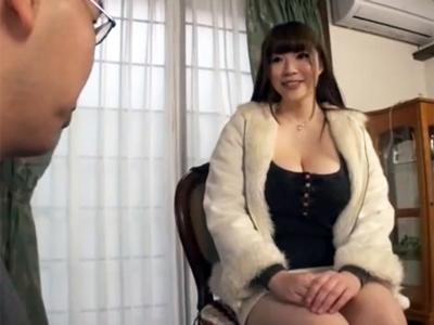 家政婦として働くムチムチ巨乳おねえさんが仕事先の息子からレイプハメ