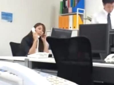 「そこ!そこがいいのぉ!」総務課課長の痴女上司とオフィスで乱れパコ
