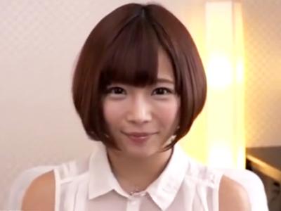 いつも元気いっぱいな紗倉まなちゃんをハメ倒し→大量顔射フィニッシュ!
