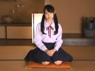 アイドル顔負けな美少女JKがAVデビュー!男優棒に本気イキw