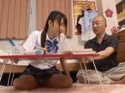 「いやぁだめぇ!!」変態家庭教師にレイプされちゃう女子校生