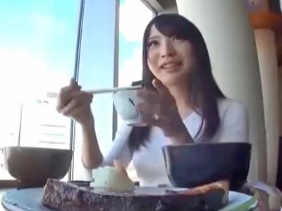 素人娘に飯をおごってナンパ→即日中出しキメた結果w
