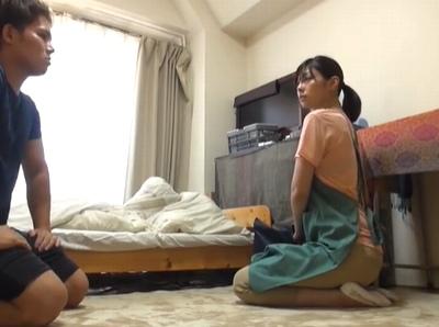 【蓮実クレア】地味子が眼鏡をとったら淫乱痴女に変身