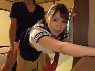「ぃぃいーー♡しゅごぃの」薄毛ハーフの美少女と温泉旅館でラブラブ旅行