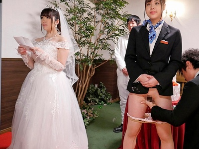 「私…幸せになりま…」人生最高の結婚式で時間を止めて強制レイプ!
