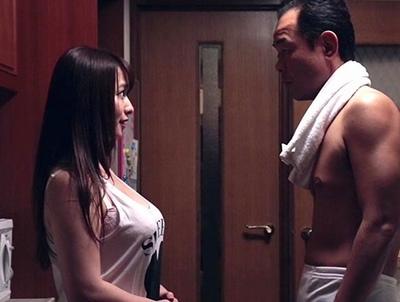 「オチ〇ポ…ください」ムッチリ義娘を狂わすほどの義父テクニックで汗だく近親相姦